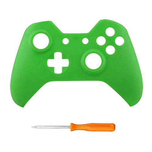 Front housing shell cover skin for xbox one games upper Matte case replacement parts For Xbox one Controller 9 Color,Green