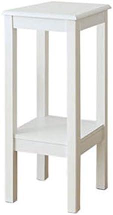 白い花スタンドソリッドウッドリビングルームバルコニーシェルフマルチストーリースペース室内シングル