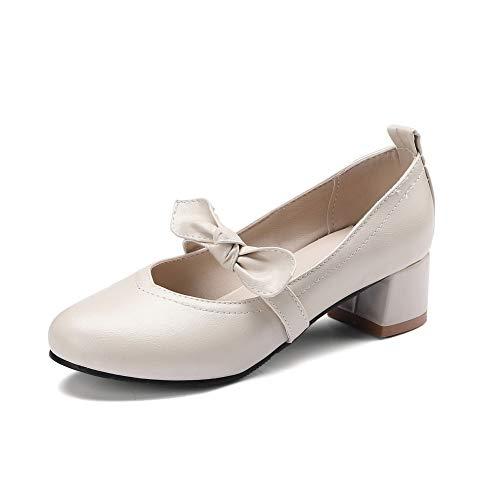 Compensées AdeeSu Blanc Sandales SDC05705 Femme gqzq0