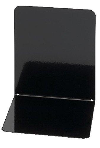 schwarz 2 Buchständer Maul Buchstützen 14x14x12 cm Metall Bücherstützen