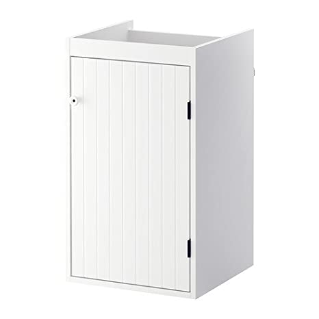 Ikea Silverån - Waschbecken Schrank mit 1 Tür, weiß ...