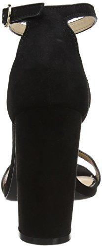 MISS SELFRIDGE Scallop Block - Sandalias con tacón Mujer Black (Black)