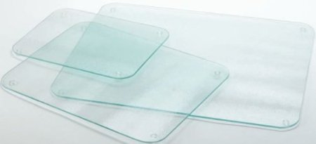 Completely Clear & Flat Float Glass Worktop Saver - 60 x 40cm by Cutting Edge Cookware TLC Giftware