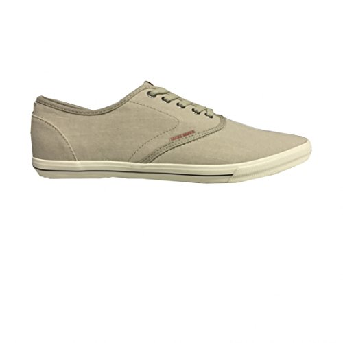 Jack and Jones Spider Chambray Sneaker Plaza Taupe
