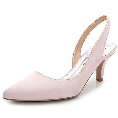 Zormey Women'S Clogs &Amp; Mules Summer Fall Slingback Silk Wedding Office &Amp; Career Party &Amp; Evening Dress Stiletto Heel US5.5 / EU36 / UK3.5 / CN35