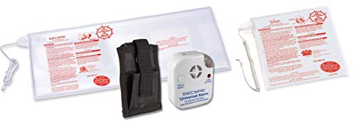 Secure Long Term Bed & Chair Exit Sensor Alarm Set for Fall & Wandering Prevention - 12