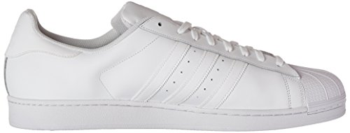 adidas Originals Herren Superstar Foundation Casual Sneakers Weiß / Laufweiß / Weiß