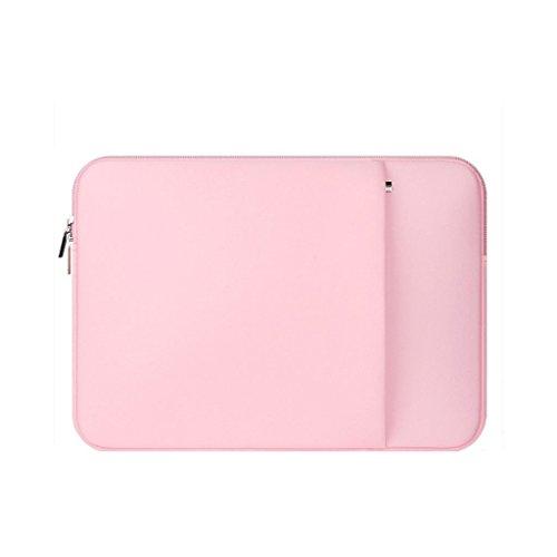 Oxforder 11-Zoll-stilvolle Notebook süße minimalistische Computer Tasche(black rRtP33S3c