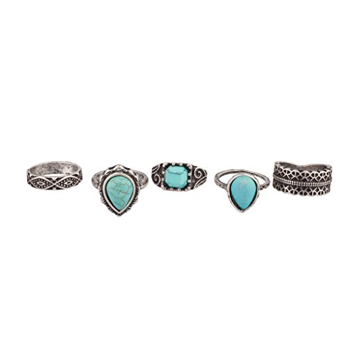 Lux Accessories Synthetic Turquoise Tribal product image