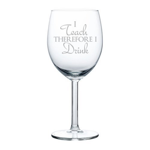 Glass Funny Teacher Professor therefore product image