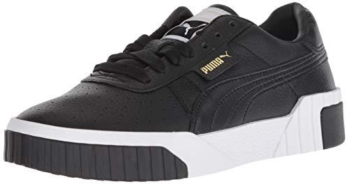 PUMA Women's CALI Sneaker, Black White, 6.5 M US (Shoe Laces For Puma)