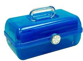 Caboodles On The Go Girl Cosmetic Organizer Blue