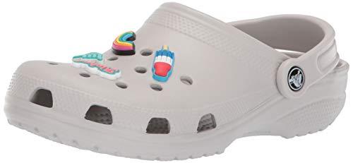 Crocs  Classic Jibbitz II Clog Shoe, pearl white, 7 US Men/ 9 US Women M US