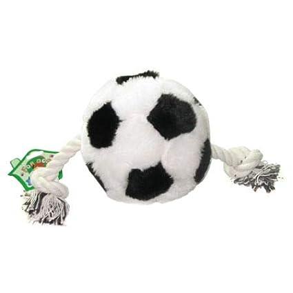 Pelota de fútbol de juguete para perro con cuerda y chirriador, 1 bolsa (1 bolsa): Amazon.es: Industria, empresas y ciencia
