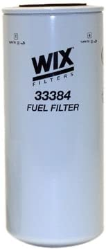 WIX Filters Pack of 1 33384 Heavy Duty Spin-On Fuel Filter