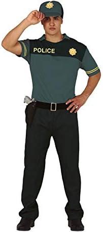Guirca Disfraz de Policía Verde para Hombre: Amazon.es: Juguetes y ...
