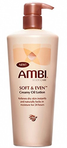 Ambi Soft And Even Moisturizer Creamy Oil Skin Lotion - 12 O