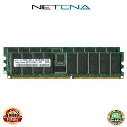 Computer Memory Sdram Sun Ddr (X7267A 8GB (2x4GB) Sun Ultra 40 PC3200 DDR-400 184-pin Registered ECC SDRAM DIMM Memory Kit 100% Compatible memory by NETCNA USA)