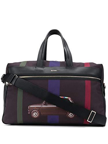 Paul Smith Men's M1a5733a4047979 Black Cotton Travel Bag