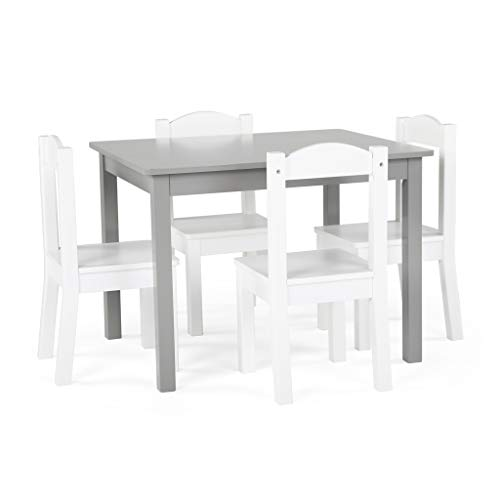 Tot Tutors TC770 Inspire Collection Kids Wood Table & 4 Chair Set, ()
