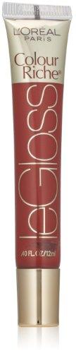 L'Oreal Paris Colour Riche Le Gloss, Really Rose, 0.40 Ounces