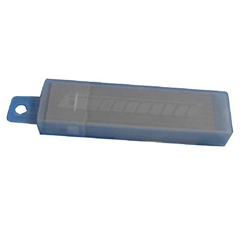 Warner 13-Point 9MM Snap-Off Blades, 50 in Plastic Tube on Blister Card, 10806 13 Point Snap Blades
