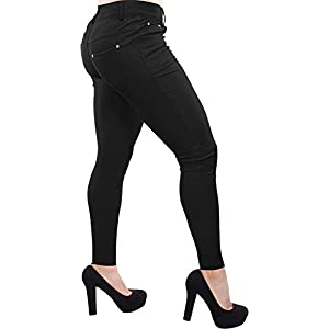 Enimay Women's Colored Jean Look Jeggings Tights Spandex Leggings Yoga Pants