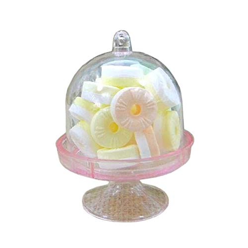 Party Diy Decorations - 12x Mini Cake Stand Cupcake Box Wedding Party Plastic Candy - Decorations Party Party Decorations Cake Plastic Cupcak Fruit Tray Snack Candy Lollipop Stand Aluminum -