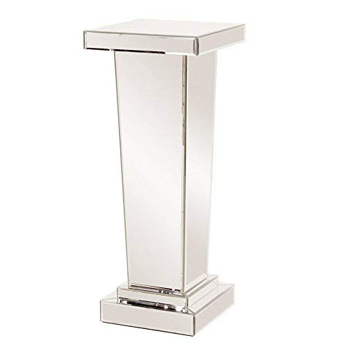 - Howard Elliott 11132 Tapered Mirrored Pedestal, 15 x 15 x 36-Inch