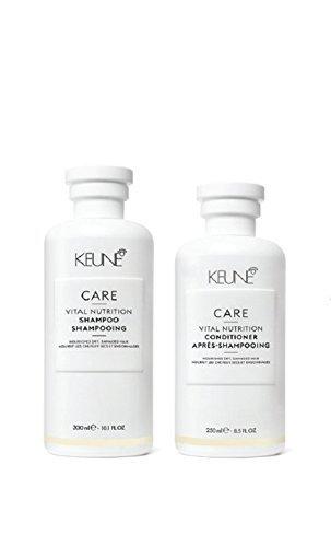 (Keune Vital Nutrition Shampoo 10.1 oz & Conditioner 8.5 oz)
