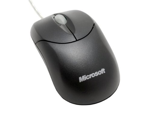 Microsoft Compact Optical Mouse (COMPACT OPTICAL MOUSE 500 - MOUSE - OPTICAL - 3 BUTTONS - CABLE - USB - BLACK)