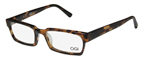 Ogi 3103 Mens/Womens Rx Ready Celebrity Style Designer Full-rim Eyeglasses/Spectacles (51-17-140, - 51 Eyeglasses Size