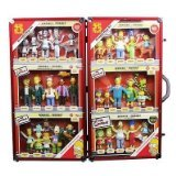 NJ Croce Simpsons 25th Anniversary Limited Edition Bendable Mega Set