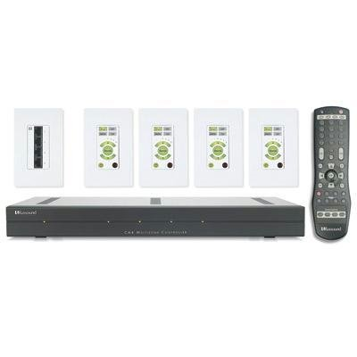4 Zone Audio Controller Amplifier - Russound CA4KT1 Multiroom Controller Amplifier