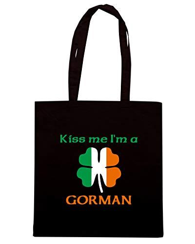 Speed Shirt Borsa Shopper Nera TIR0058 GORMAN FAMILY