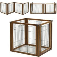 Convertible Elite Pet Gate 6-Panel Autumn Matte 197.5