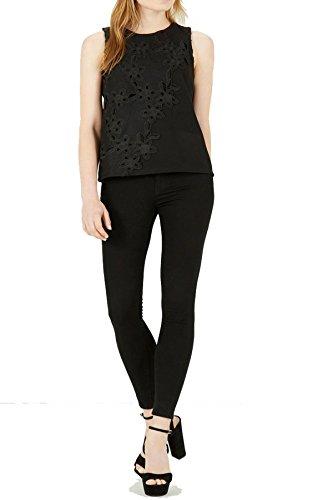 Warehouse - Camiseta sin mangas - para mujer negro