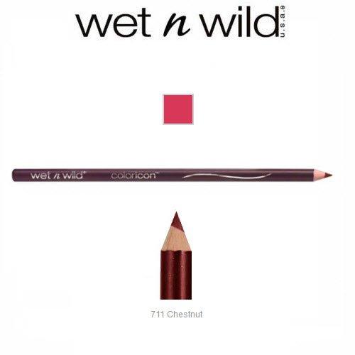 2 Pack Wet n Wild Beauty Color Icon Lipliner 711 Chestnut