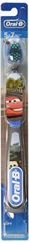 Oral-B Kids Toothbrush, Pro-Health Stages Disney Pixar Cars, Soft, Children 5-7 Yrs
