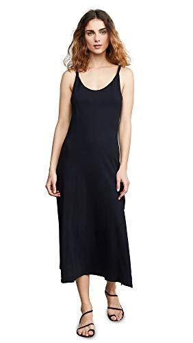 (Current/Elliott Women's The Twisted Dress, Caviar, Black, 3)