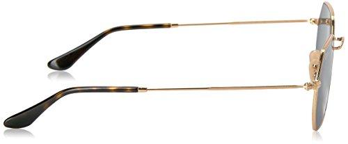 gold Piana 001 Oro Ray Sole Da 53 Occhiali Lente In Verde ban Rb3556n Ottagonale cqBBXPO