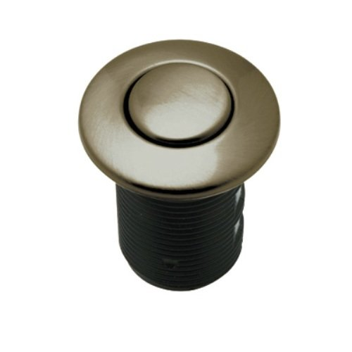 Rohl AS425TCB Air Activated Switch Button Only for Waste Disposal Including Escutcheon Base and Fastening Nut, Tuscan Brass