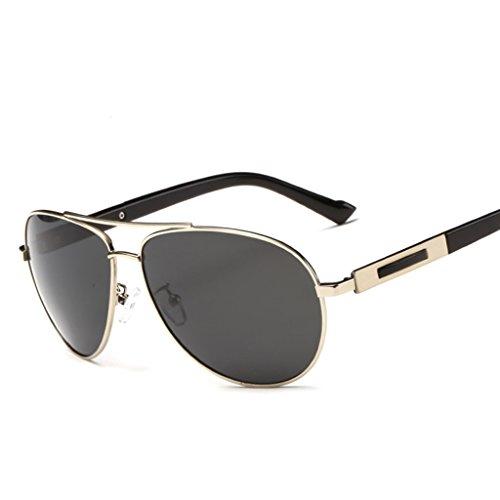 Conducción Color Gafas de Polarizador Gafas de Sol Conducción Sol C Interno Especial Sol con Recubrimiento de Conductor Espejo Hombre B Gafas Aq7AwrU