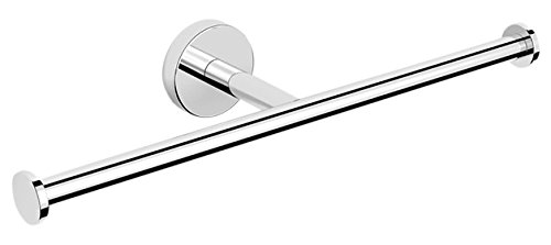 Nameeks NNBL0034 Luxury Hotel Polished Double Toilet Paper Holder, Chrome