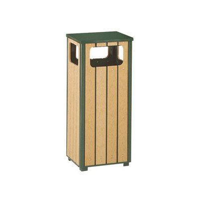 12-Gal Regent 50 Series Sand Top Ash/Trash Receptacle with Side Opening [Set of 2]