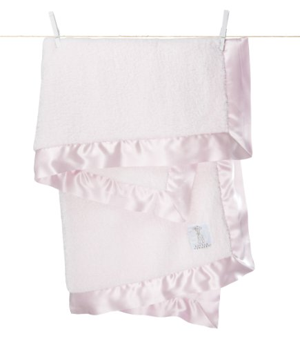 Little Giraffe Chenille Blanket – Pink 29″ X 35″, Baby & Kids Zone
