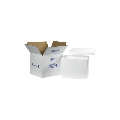 Insulated Shipping Containers, 13 3/4'' x 11 3/4'' x 11 7/8'' - [1/CASE] by Box Partners