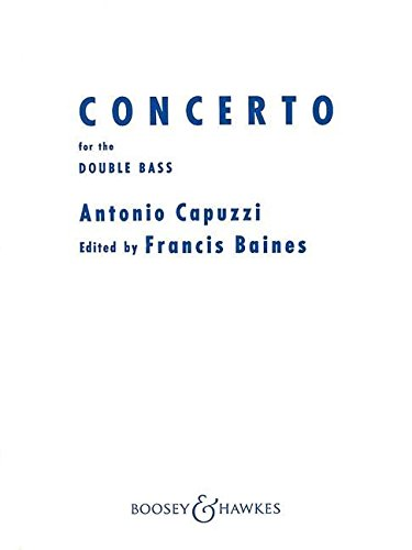 Concerto In F For Double Bass