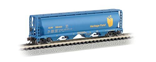 (Bachmann Industries Inc. Canadian 4-Bay Cylindrical Grain Hopper Heritage Fund - N Scale)