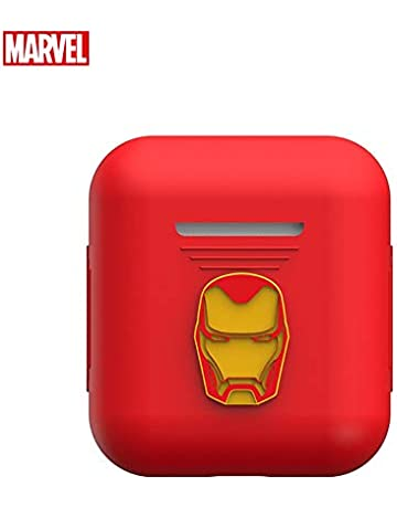 74d9de43 Marvel Avengers Endgame AirPods Case Protective Silicone Cover and Skin  Compatible with Apple Airpods 1 &